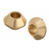Metal Bead Ufo 7X5mm Brass